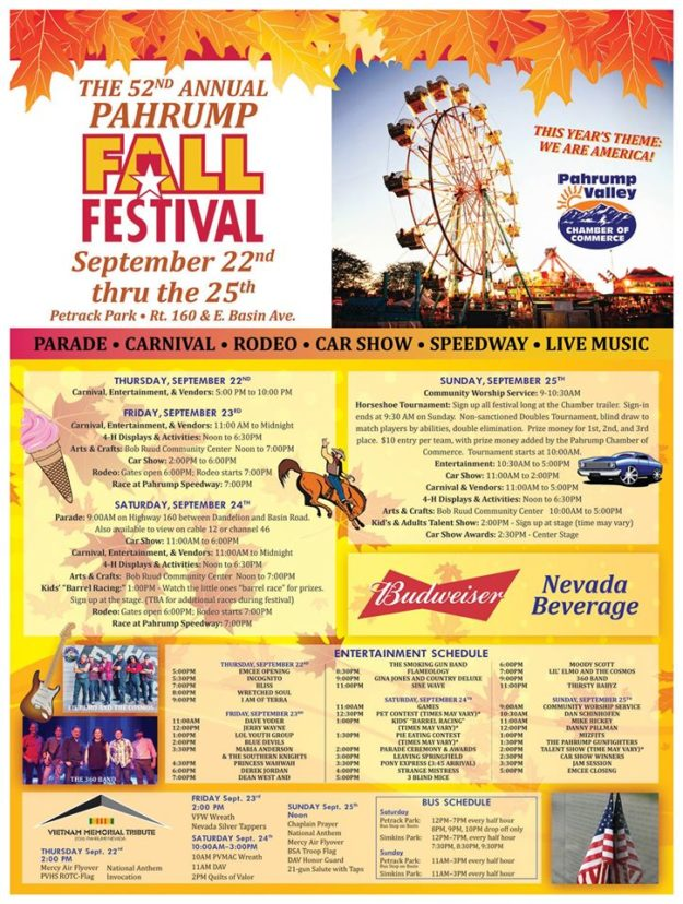 Pahrump Fall Festival