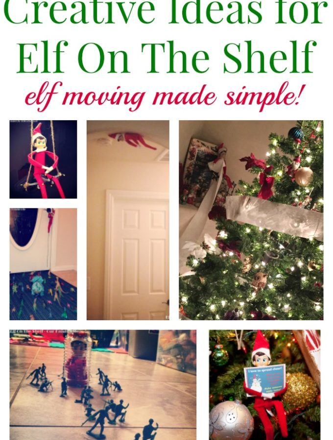 elf on the shelf made simple
