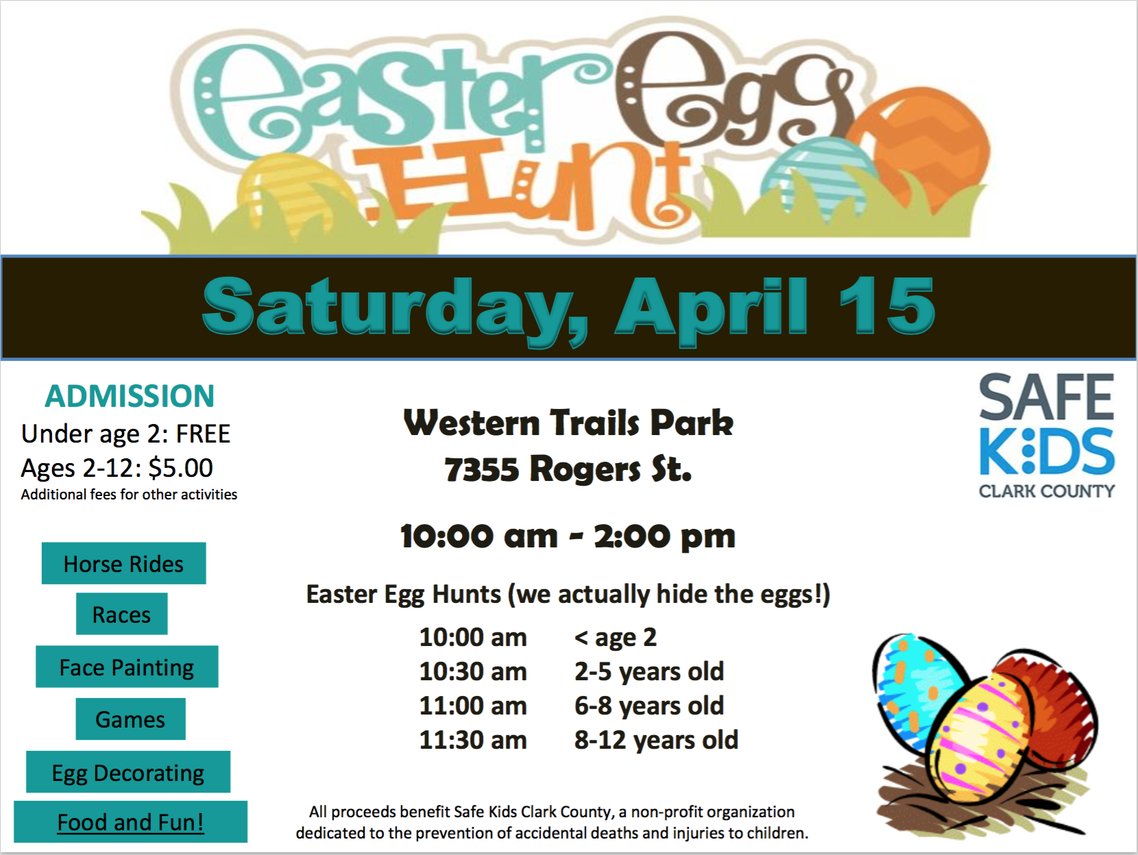 Easter Egg Hunt Las Vegas