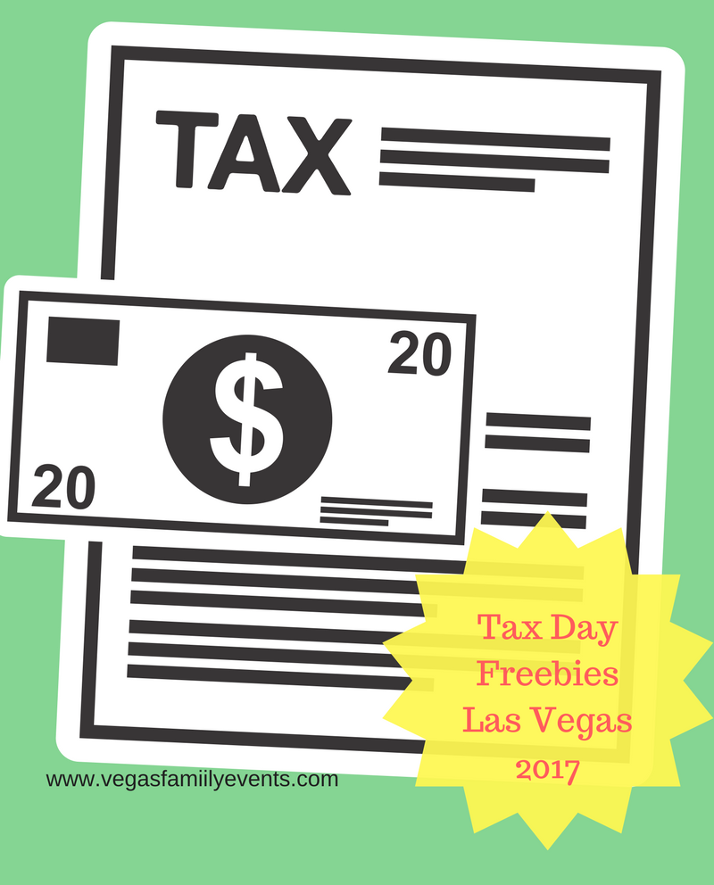 las vegas tax day deals