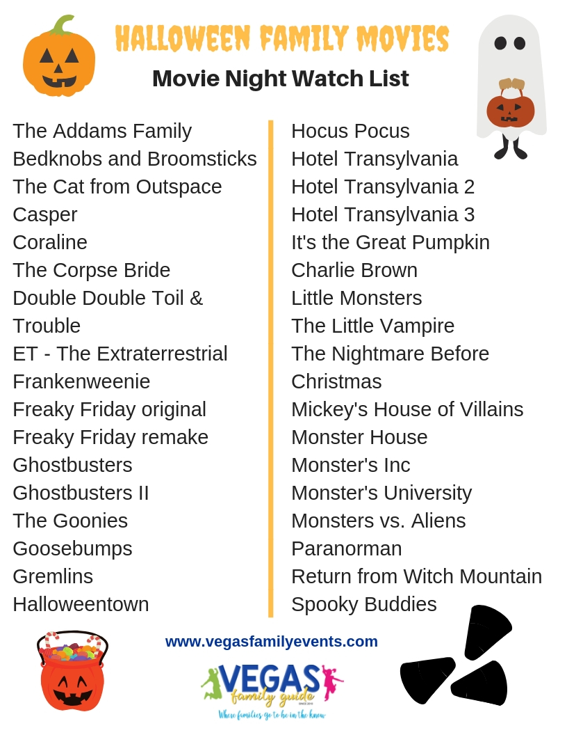 Halloween Family Movies - Festive Movies for Everyone in the